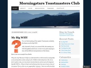 Morningstars Toastmasters Club - Gibsons