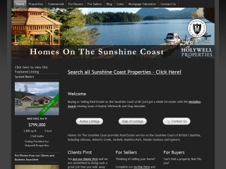 Homes on the Sunshine Coast