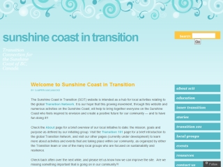Sunshine Coast in Transition