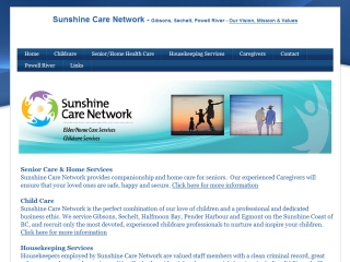 Sunshine Care Network