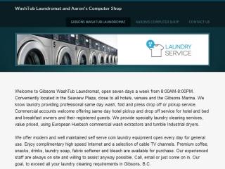 Gibsons WashTub Laundromat