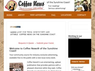 Sunshine Coast Coffee News
