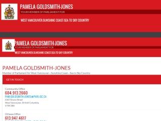 Pamela Goldsmith-Jones MP
