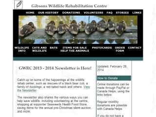 Gibsons Wildlife Rehab Centre