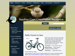 Sunshine Coast Conservation Association