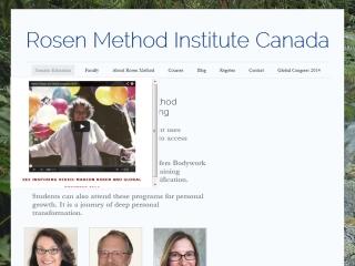 Rosen Method Bodywork Cascadia Centre