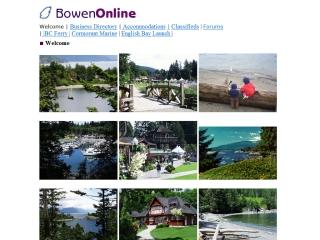 Bowen Island Info