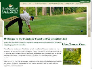 Sunshine Coast Golf & Country Club