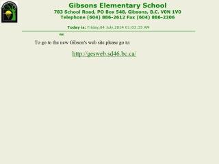 Gibsons Elementary School