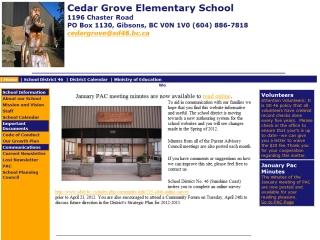 Cedar Grove Elementary School