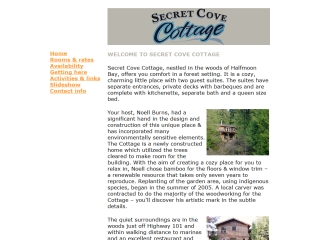 Secret Cove Cottage
