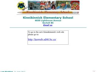 Kinnikinnick Elementary School