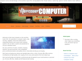 Wet-Coast Computer and Design
