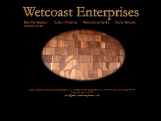 Wetcoast Enterprises