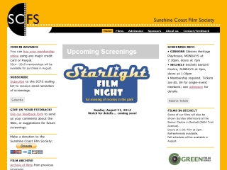 Sunshine Coast Film Society