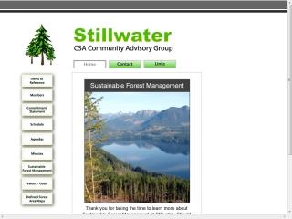 Community Advisory Group to Stillwater Timberlands Cascadia