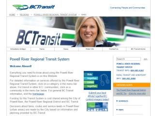 Powell River Regional Transit System