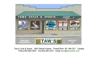 Taw's Cycle & Sports