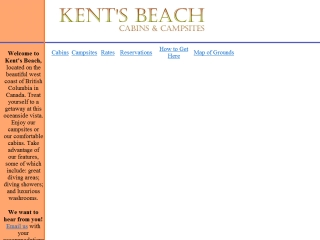 Kent's Beach Cabins and Campsites
