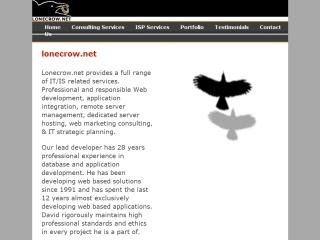 Lonecrow.net