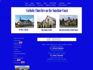 Sunshine Coast Catholic Churches