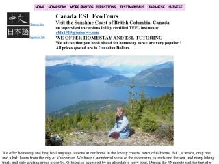 Canada ESL EcoTours