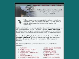 Talbot Insurance Services Ltd.
