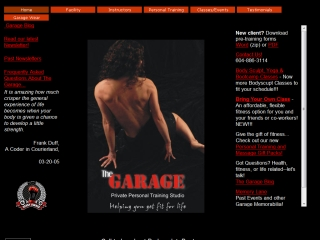 The Garage - Private Personal Training Studio