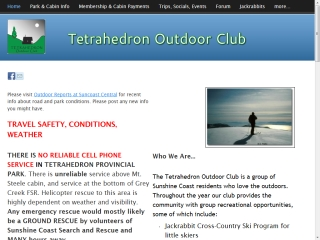 Tetrahedron Outdoor Club