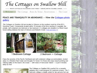 The Cottage on Swallow Hill