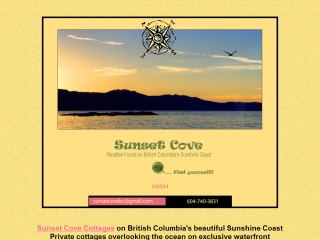 Sunset Cove Cottages