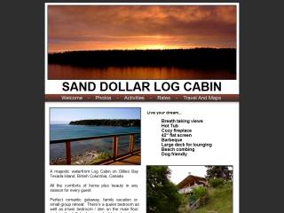Sand Dollar Log Cabin