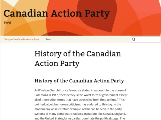 Canadian Action Party