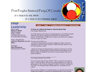First Peoples National Party of Canada