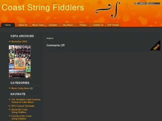 Coast String Fiddlers