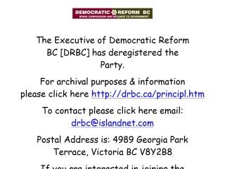 Democratic Reform B.C.