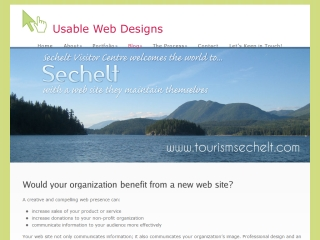 Usable Web Designs